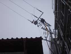 電線引き込み工事3